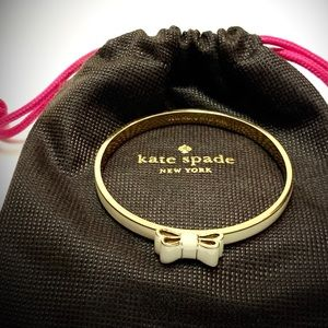 "kate spade Jewelry - Kate Spade ""Moon River"" Bangle In Natural"